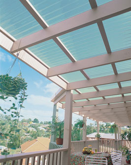 Suncall Translucent Plastic Corrugated Roofing By Ampelite