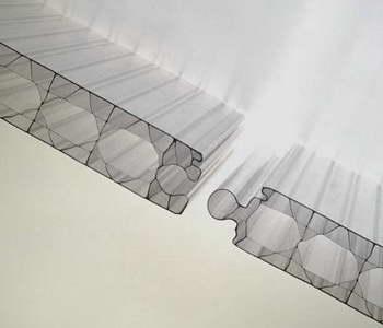 Thermoclick Translucent Plastic Wall Panel
